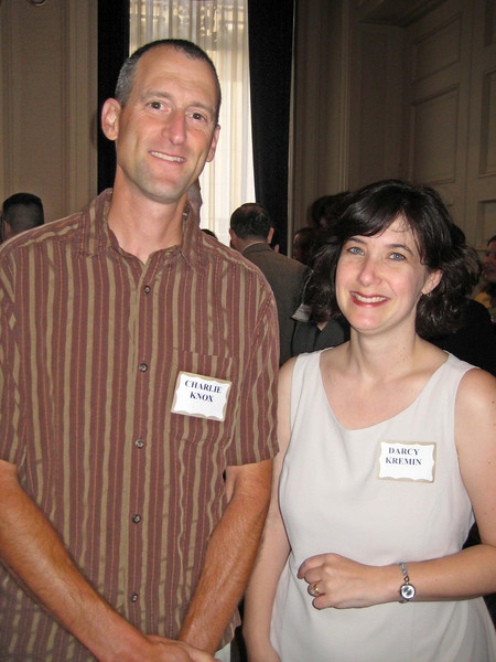 Charlie Knox (CDD director, Benicia) and Northern Section Director Darcy Kremin
