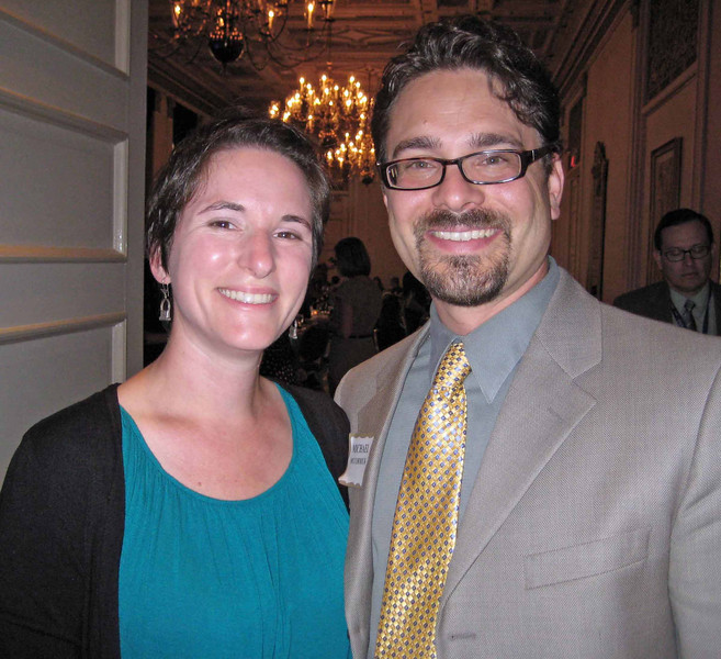 Valerie Termini and Michael McCormick, PMC, Section Communications Director