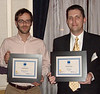 Alexander Brennan and Seth Adams, winners of CPF Continuing Student Scholarships