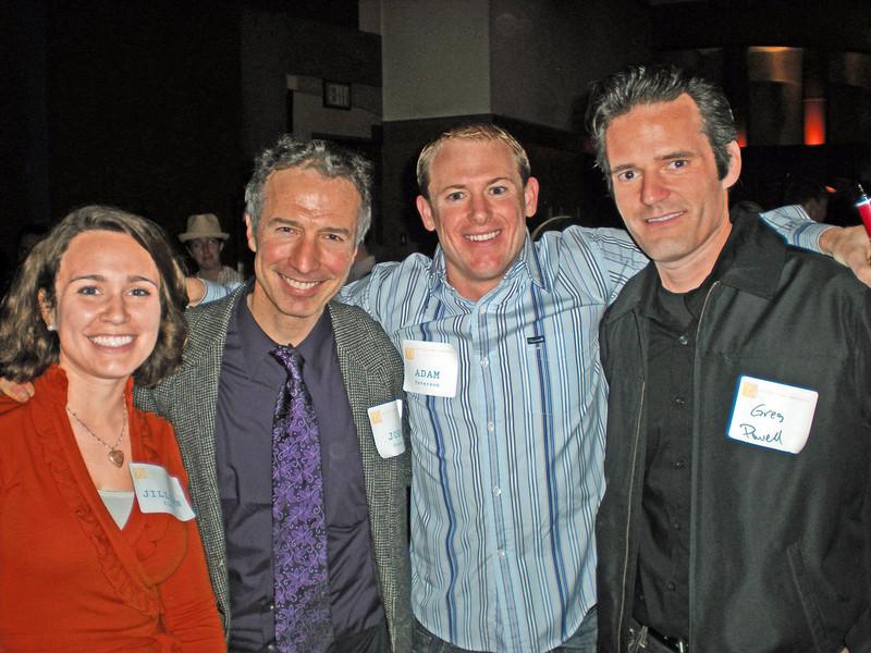From PMC: Jillian Rich, John Steere, AICP, Adam Petersen, and Greg Powell (Berkeley)