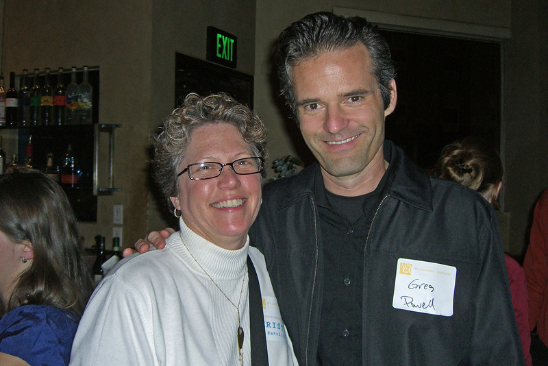 Christina Ratcliffe, AICP (PMC, and Northern Section's professional development director) and Greg Powell  (Berkeley)
