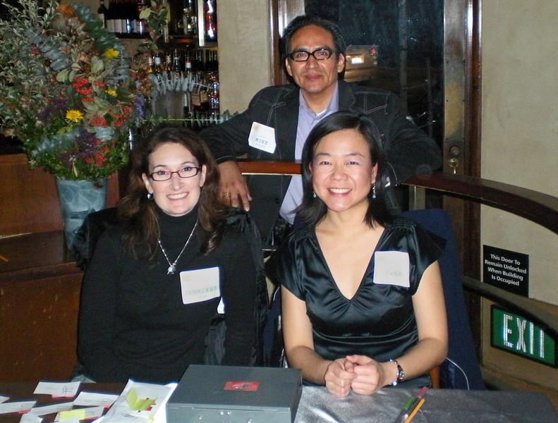 Jennifer Gates, AICP (California Preservation Foundation), Mike Rivera (Oakland), Jane Wardani (ecocitybuilders)