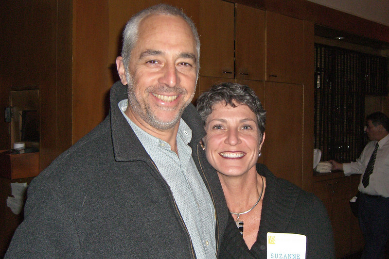 Alex Amoroso (Berkeley) and spouse Suzanne Drolet (both AICP)