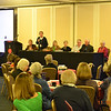 Sunday morning membrship meeting. APPPAH board: Sandra Bardsley, Maureen Wolfe (ED), Sandy Morningstar, Pat Martin, Jay Hathaway, William Emerson, Jeane Rhodes
