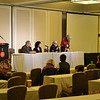 Saturday speaker panel: Stan Grof, Carista Luminare, Thomas Verny, and moderator, Debby Takikawa