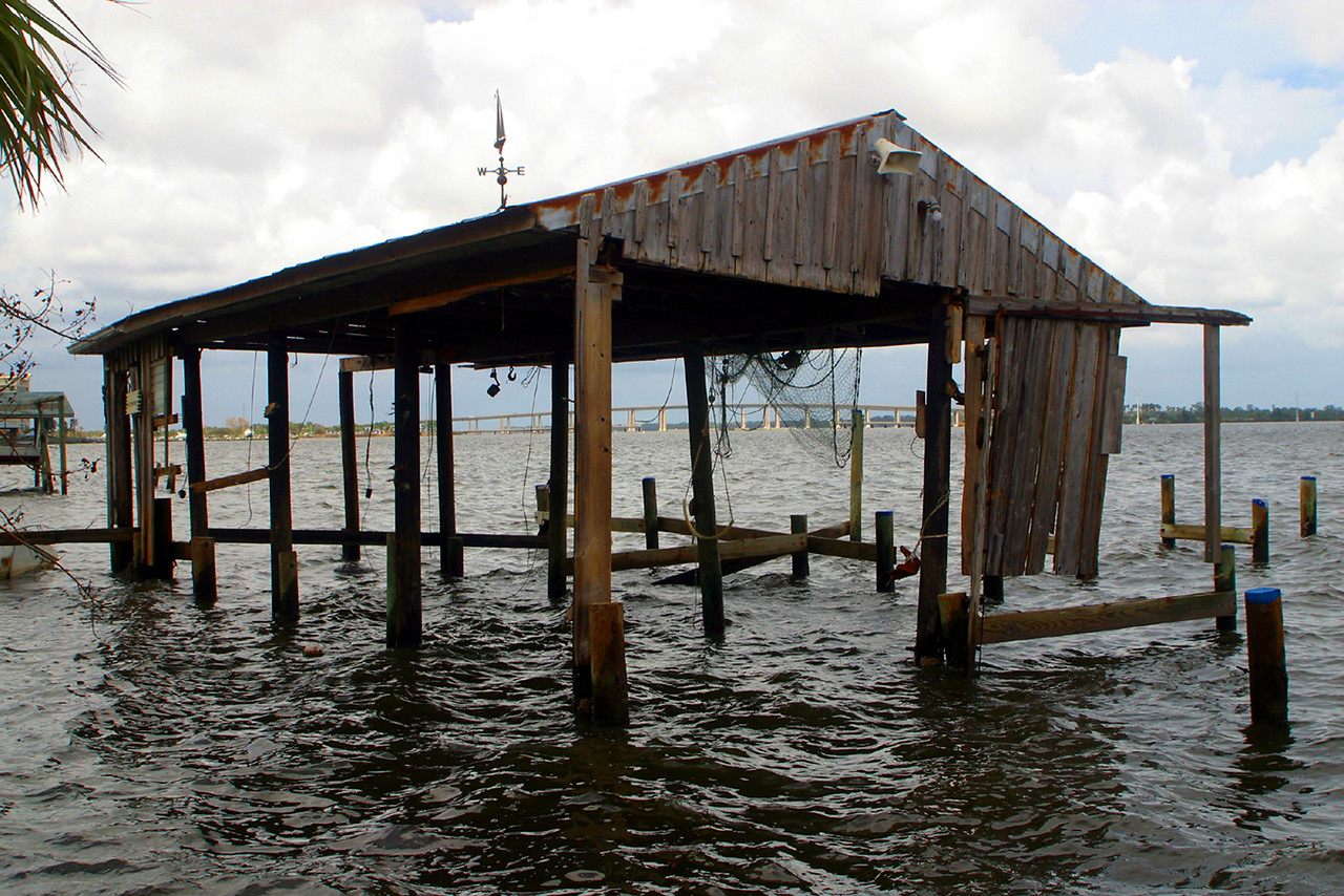 The Boat House, Huricane 2004