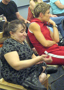 Suzanne Richard and Elizabeth Johnson of Liz Lerman/Dance Exchange.