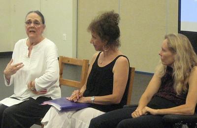 Martha Wittman, Liz Lerman, and Judith Smith.