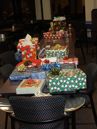 Adopt A Family Gift Drive Holiday Wrapping Social