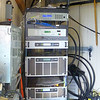 Kekahu and Hawaii Public Radio equipment rack and power panels