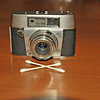 Vintage Antique Cameras - AFTER cleaning and testing - Agfa Unknown - Agfa Color Apotar