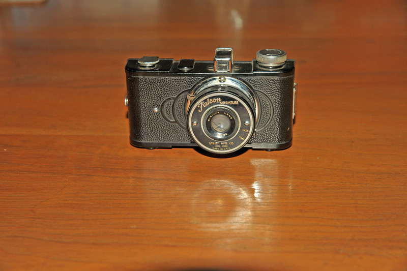 Vintage Antique Cameras - AFTER cleaning and testing - Falcon Minature