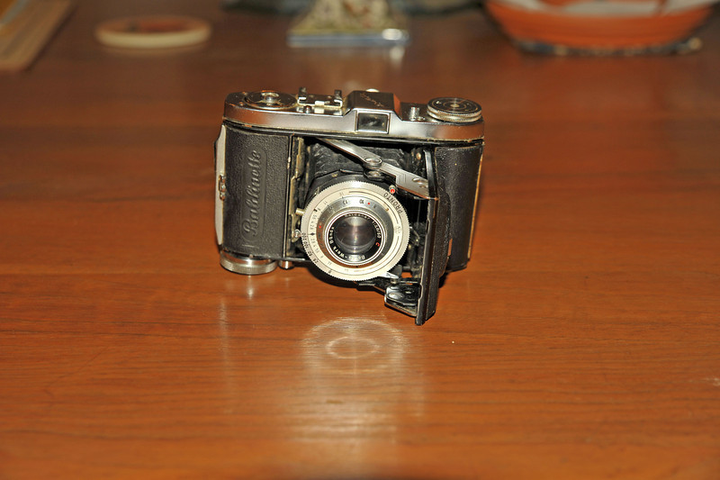 Vintage Antique Cameras - AFTER cleaning and testing - Baldinette Pronto