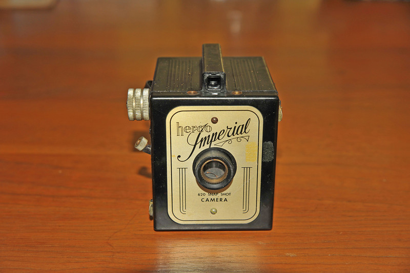 Vintage Antique Cameras - AFTER cleaning and testing - Herco Imperial