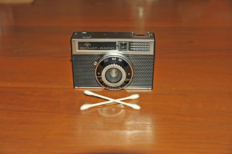 Vintage Antique Cameras - AFTER cleaning and testing - Agfa ISOMAT - RAPID