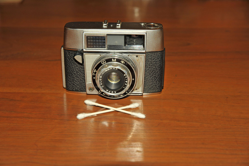 Vintage Antique Cameras - AFTER cleaning and testing - Agfa Optima I