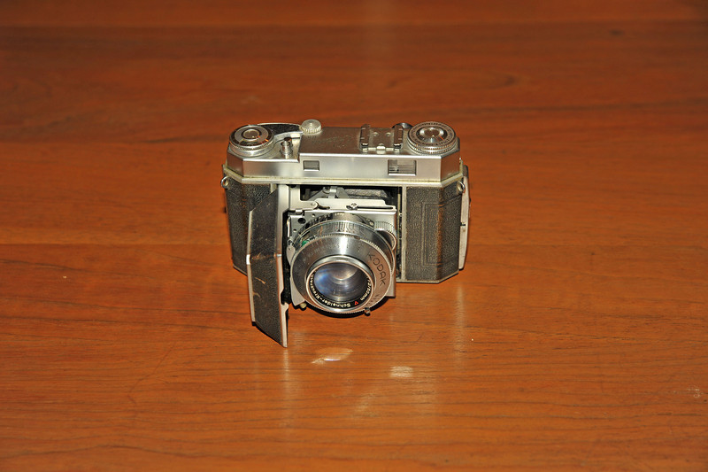Vintage Antique Cameras - AFTER cleaning and testing - Kodak Retina IIa
