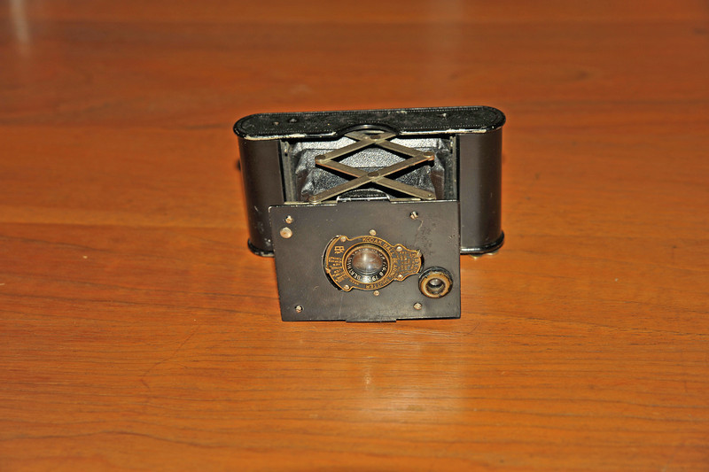 Vintage Antique Cameras - AFTER cleaning and testing - Kodak 25BT50 Camera Ball Bearing Shutter