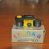 Vintage Antique Cameras - AFTER cleaning and testing - Franka Camera Micro 110