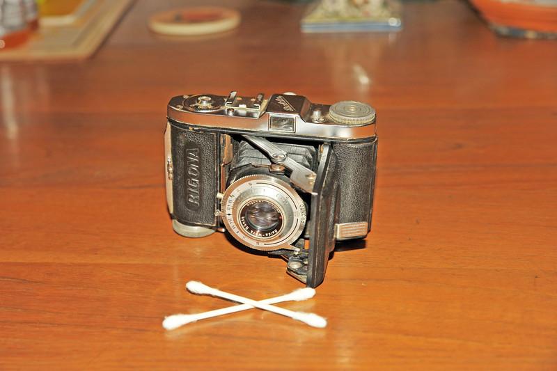 Vintage Antique Cameras - AFTER cleaning and testing - Balda Rigona
