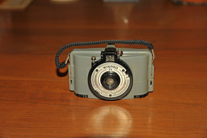 Vintage Antique Cameras - AFTER cleaning and testing - Winpro 35