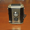 Vintage Antique Cameras - AFTER cleaning and testing - Kodak Brownie Reflex Synchro Model