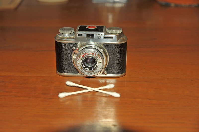 Vintage Antique Cameras - AFTER cleaning and testing - Bolsey Model B2