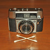 Vintage Antique Cameras - AFTER cleaning and testing - Agfa Optima