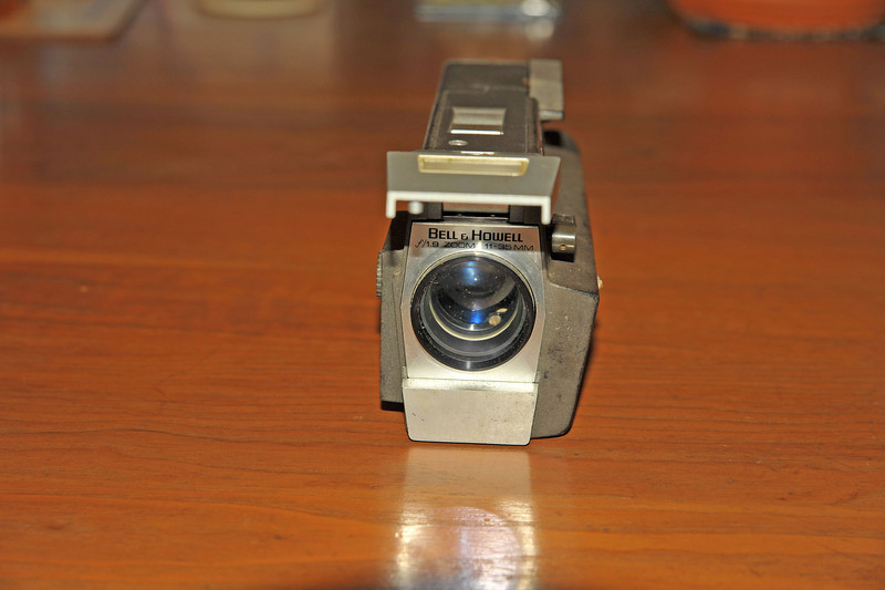 Vintage Antique Cameras - AFTER cleaning and testing - Bell & Howell Model 442 Autoload Focus-Matic