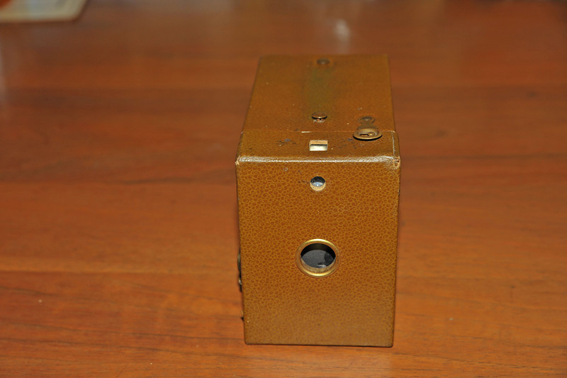 Vintage Antique Cameras - AFTER cleaning and testing - Fiftieth Anniversary of Kodak Box Camera