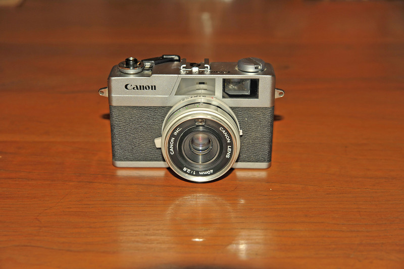 Vintage Antique Cameras - AFTER cleaning and testing - Canon Canonet 28