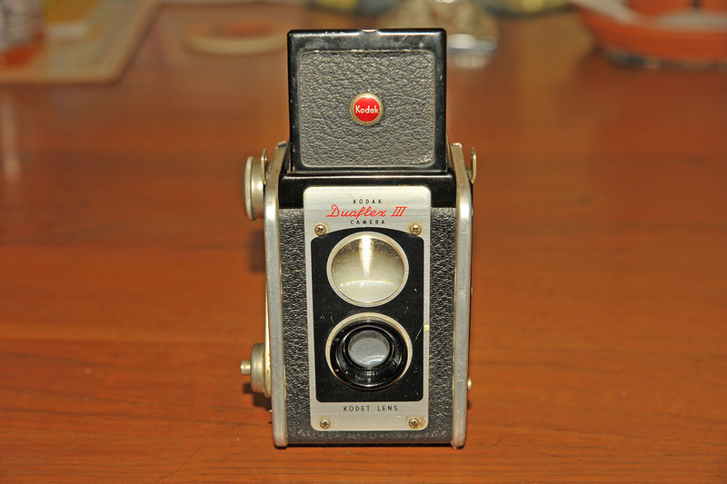 Vintage Antique Cameras - AFTER cleaning and testing - Kodak Duaflex III