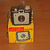 Vintage Antique Cameras - AFTER cleaning and testing - Brownie Holiday Flash