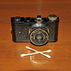 Vintage Antique Cameras - AFTER cleaning and testing - Falcon Miniature