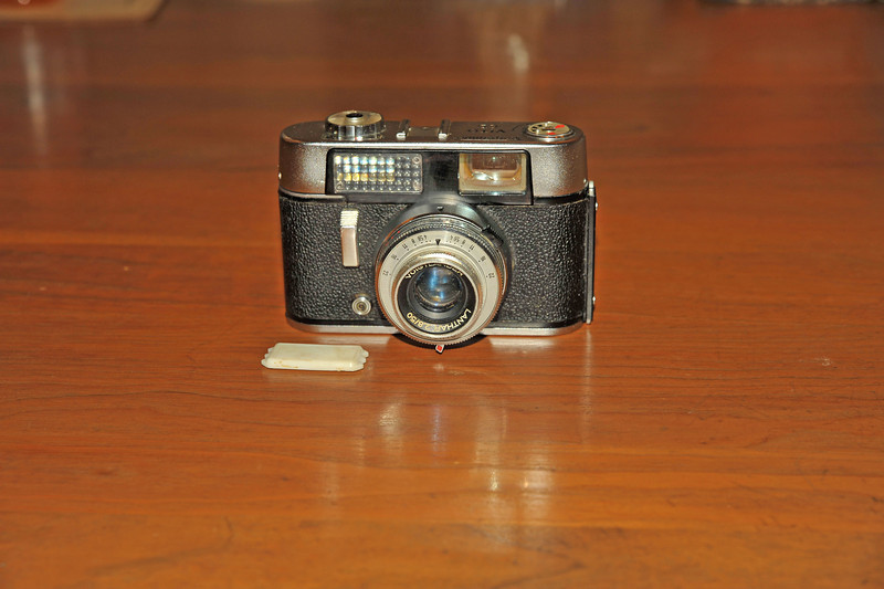 Vintage Antique Cameras - AFTER cleaning and testing - Voigtlander Vito CD