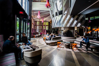 W Seattle Hotel Lobby