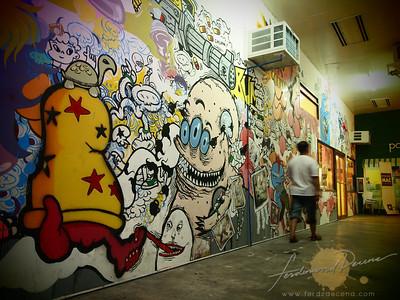 The Collective Vinyl-on-vinyl Art Wall