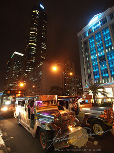 Ayala Street Night Scene