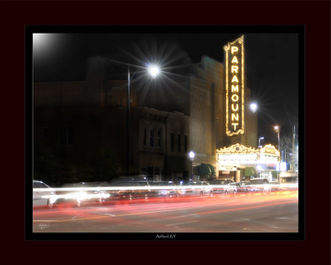 Ashland Nightscape - The historic Paramount Arts Center