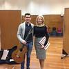 BBC Radio 3 New Generation Artist recording with guitarist Thibaut Garcia