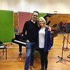 Final recording at Maida Vale Studios with pianist Christopher Glynn