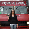 Rosa Gargano, Pasta Ls Vista Baby food truck in Little Italy,  Baltimore on January 12, 2018.   Photo by:  Eric Stocklin