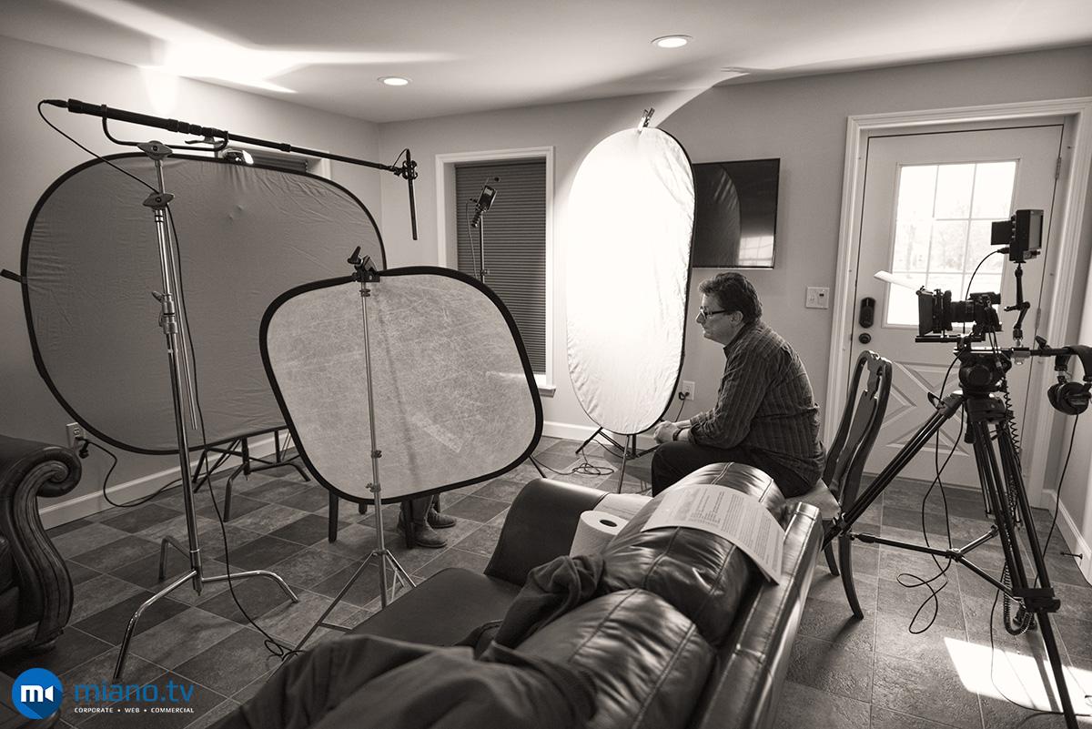 miano.tv capturing non-profit video interviews