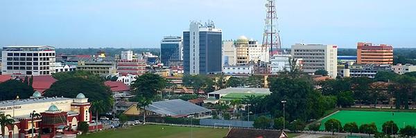 The weather looked promising  Kota Bharu, Kelantan 14th October 2013