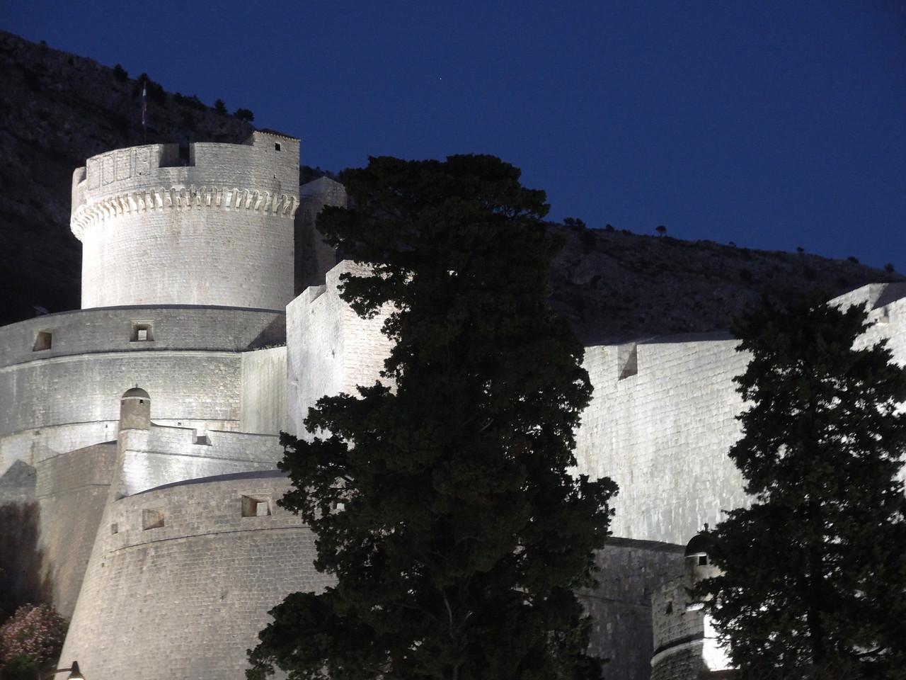 Dubrovnik old town--castle