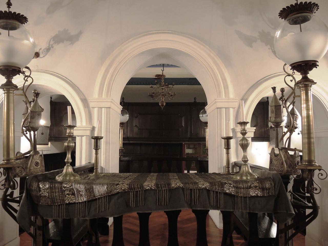 Dubrovnik synagogue--the Bima