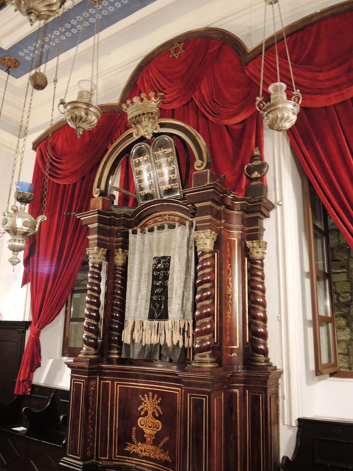 Dubrovnik synagogue--the Ark