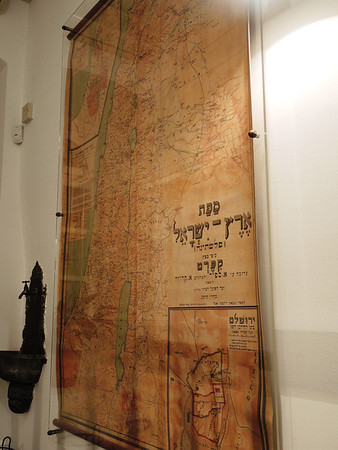 Map of Palestine--early 20th century