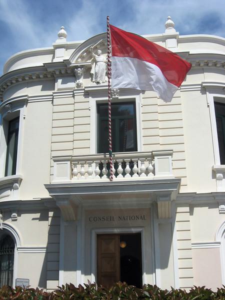 "Monaco's ""Conseil National""--its ""supreme court"" ..."