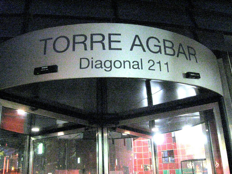 One of Barcelona's newest attractions--the headquarters of its water authority, Torre Agbar.